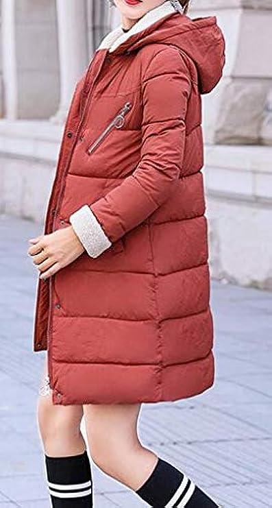 Cappuccio Trapuntato Donna Jofemuho In Pelliccia Con Parka Cappotto Invernale Piumino Da Sintetica WfS4zq
