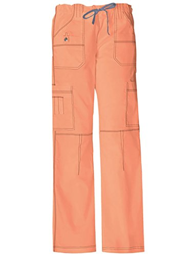Dickies 857455 Women's GenFlex Youtility Pant Peach Parfait 3X-Large Peaches Low Rise Pants