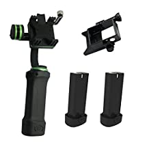 Lanparte HHG-01 3 Axis Handheld Gimbal + 2 x Phone Holder + 2 x Battery Grip for Gopro 4 iPhone 6 Plus 6S