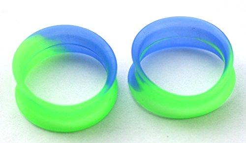 7 16 tie dye plugs - 7