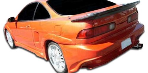 Duraflex Replacement for 1994-2001 Acura Integra 2DR Millenium Wide Body Rear Fender Flares - 2 Piece