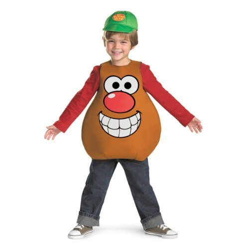 Mr Potato Head Classic Child Costume, Toddler or Small Child (3T-4T)