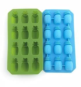 BONISON Pineapple-shape Ice Cube Tray (Random Color)