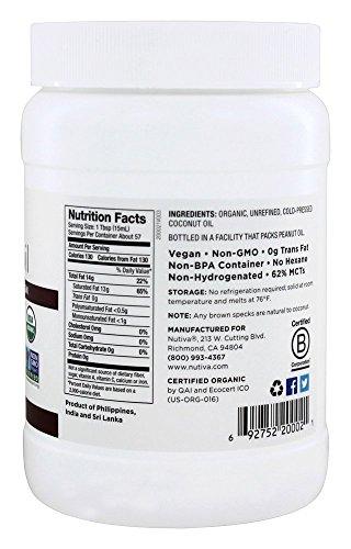 Nutiva Organic Virgin Coconut Oil - 29 oz