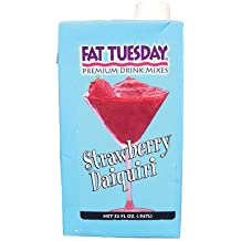 Fat Tuesday Drink Mix Strawberry Daiquiri 32OZ Sold Each #FTSTRA32-S
