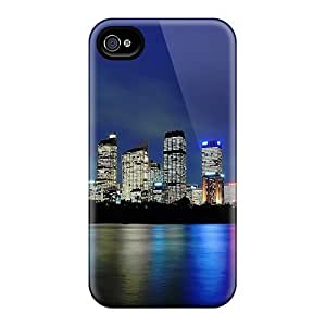 Awesome Design Sydney Silky Reflection Hard Case Cover For Iphone 4/4s