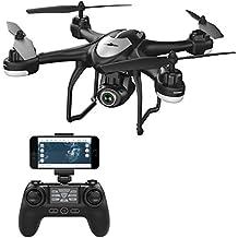 Potensic T18GPS FPV RC Drone con cámara vídeo en directo y GPS regreso a casa Quadcopter con ajustable Gran Angular HD de 720p wifi cámara
