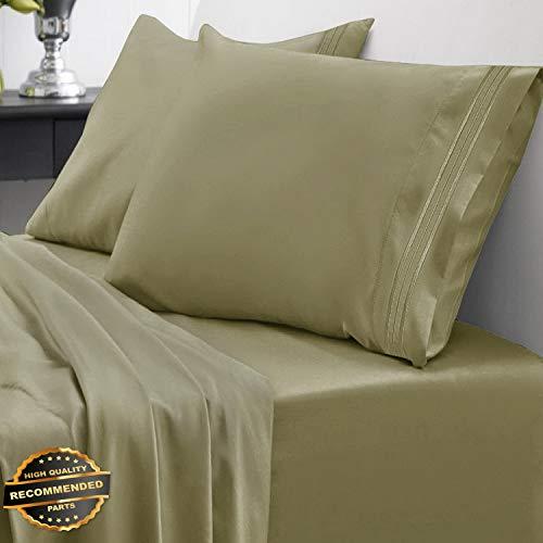 Gatton New Premium 1800 Thread Count Sheet Set Egyptian Quality Deep Pocket | LINENIENHM-182011839 ()