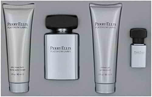 Perry Ellis Platinum Label Men 4 Piece Gift Set