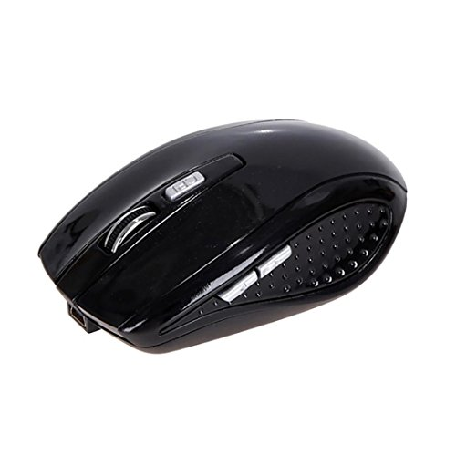 1600DPI 2.4G USB Receiver Optical 6D Gaming Wireless Mouse (Black) - 3