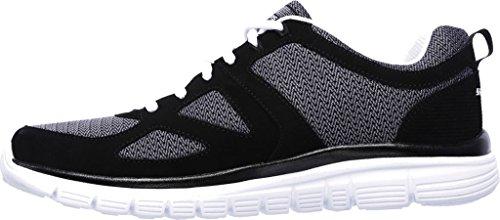 Skechers Burns-Agoura Hombre Ante Zapatos para Caminar