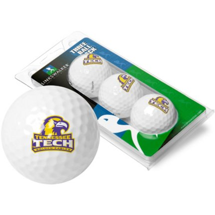 Tennessee Tech Golden Eagles Top Flite XLゴルフボール3ボールスリーブ(セットof 3 )   B0009SXB86