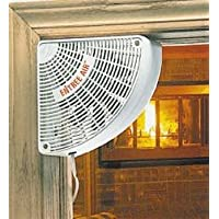 Plow & Hearth 1583-BR Doorway Wall Fan Finish, Brown