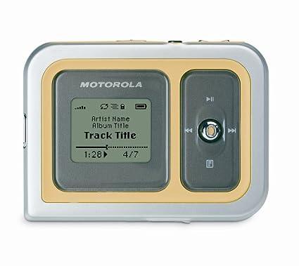 Amazon Motorola M500 5GB Digital Audio Player With FM Clock Stopwatch Home Theater