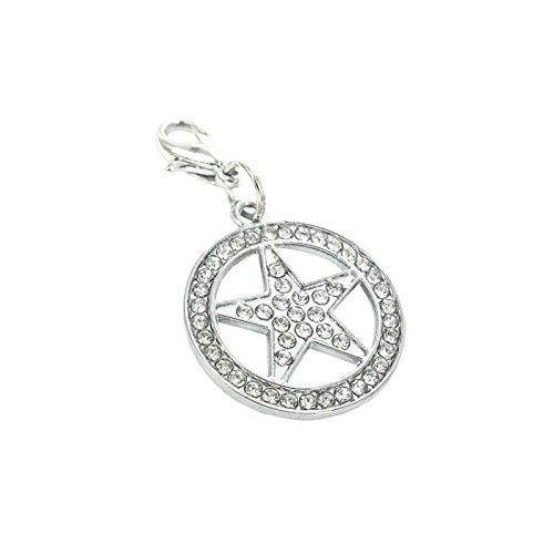 En acier-Charm étoile de la marque Charming Charms