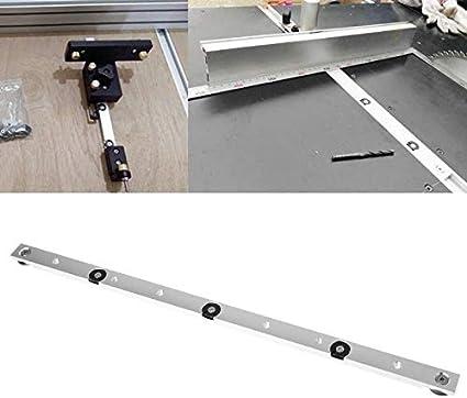 100mm 450mm Aluminium Mitre Bar Slider Tischkreissäge Gauge Rod Werkzeug