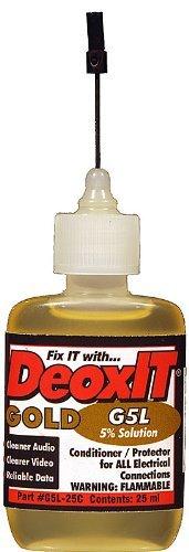 (DeoxIT Gold 5% Contact Conditioner, Needle Applicator, 25ML, #G5L-25CA)
