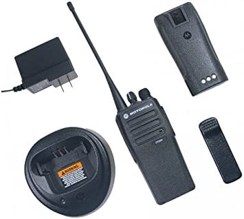 Motorola CP200D VHF 16 Ch radio w// charger