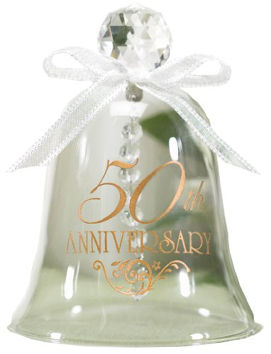 Hortense B. Hewitt Accessories 50th Anniversary Glass Bell