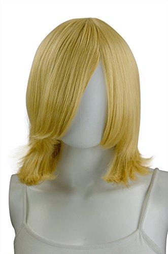Epic Cosplay Aura Caramel Blonde Straight Short Wig 16 Inches (06CBN)