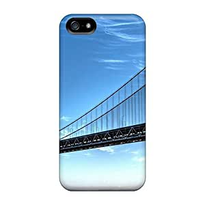 Special DebbieBrown Skin Cases Covers For Iphone 5/5s, Popular San Francisco Bay Bridge Phone Cases