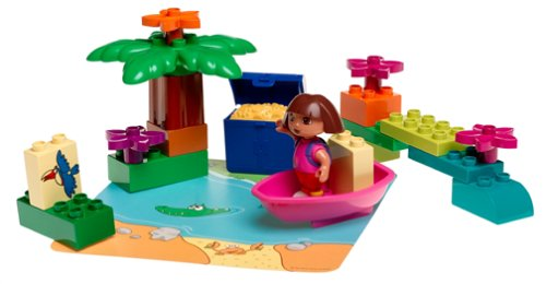 Lego Duplo Lego Dora's Treasure Island (22 Pieces)