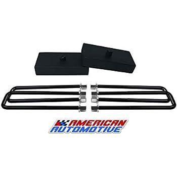 """1999-2020  Tundra Lift Kit 2/"""" American Steel Lift Blocks"""