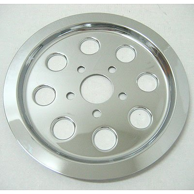 Drive Pulley Cover (Generic 8 Hole 61 Tooth Rear Pulley Cover For Harley-Davidson OEM# 40279-91 (cc25420))