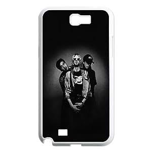 Samsung Galaxy N2 7100 Cell Phone Case White he87 nirvana music dark band FXS_511170
