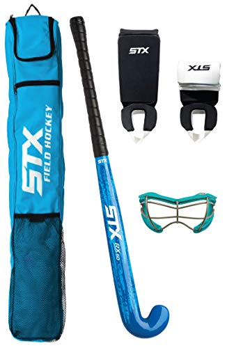 STX Field Hockey Rookie Starter Pack, with 2See-S Goggles, 30""