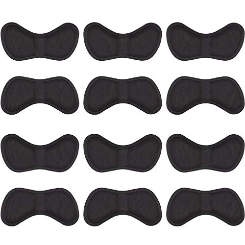 6 Pairs Heel Stickers Heel Cushion Pads Shoe Heel Insoles for Improved Shoe Fit and Comfort (6 - Pads Heel Sport