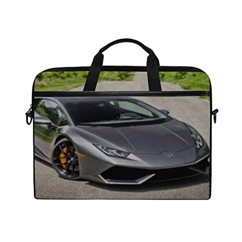 Novitec Ferrari - Ferrari Novitec Rosso Yellow Laptop Shoulder Messenger Bag Case Sleeve for 14 Inch to 15.6 Inch with Adjustable Notebook Shoulder Strap