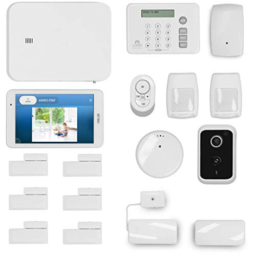 LifeShield, an ADT Company - 18-Piece Easy, DIY Smart Home Security System - Optional 24/7 Monitoring - Smart Camera - No Contract - Wi-Fi Enabled - Alexa Compatible ()