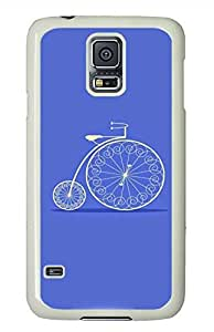 Cycling PC White Hard Case Cover Skin For Samsung Galaxy S5 I9600