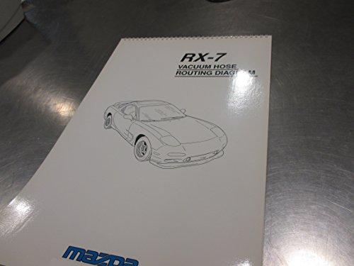 Vacuum Hose Diagram - Mazda RX-7 1993-1995 New OEM vacuum hose diagram