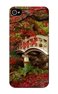 New Style Trinalgrate Hard Case Cover For Iphone 5/5s- Japanese Garden, Royal Roads University, British Columbia