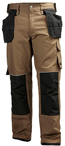 Helly Hansen Workwear Men's Chelsea Construction Pant, Timber, 38Wx32L