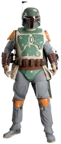 Supreme Edition Boba Fett Costume - X-Large - Chest Size (Boba Fett Movie Quality Costume)