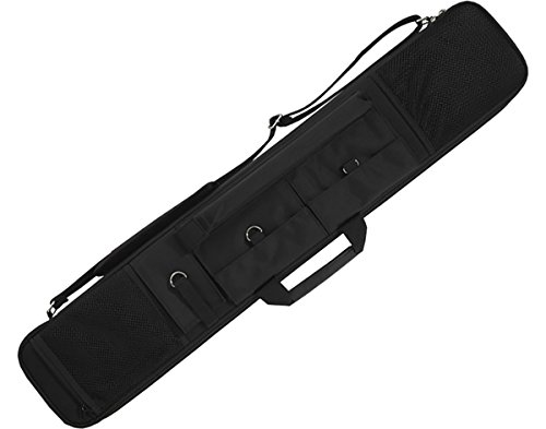 Butterfly Pool Cues (Action Brand ACSC11 2X3 Soft Nylon Pool/Billiard Cue Case - Black)