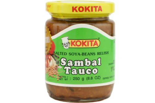 Sambal Tauco (Salted Soya Beans Relish) - 8.8 Oz (Pack of 6)