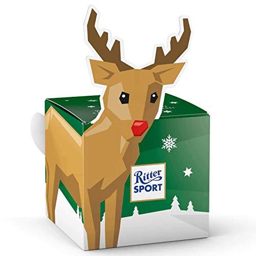 Ritter Sport Reindeer Cube (2 x 83g)