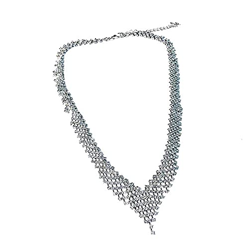 Fashion Jewelry Necklace Triangle Collar Statement Necklace for Women