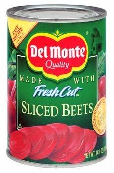 Del Monte, Sliced Beets