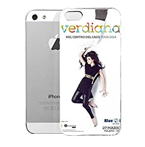 iPhone 5S Case Agliarbi Verdiana Il 25 Marzo Esce U201cnel Centro Del Caosu201d Collaborazioni Surnames Hard Plastic Cover for iPhone 5 Case