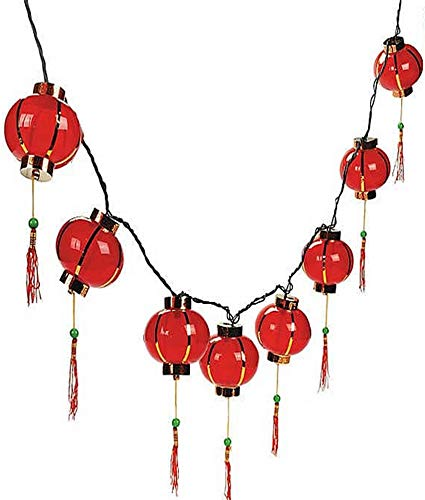 Plastic Chinese Lantern Patio Lights