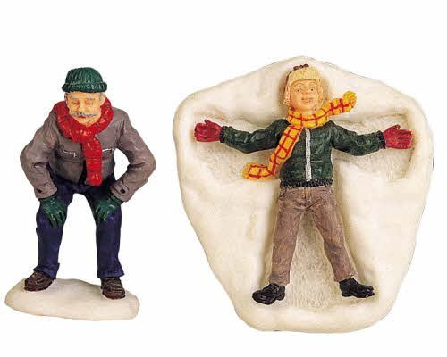 Lemax Village Collection Snow Angel Set of 2 # 92310
