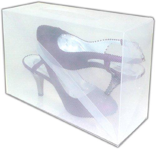 Lot de 15 Boites chaussures empilables - escarpin - INTERHOME ©