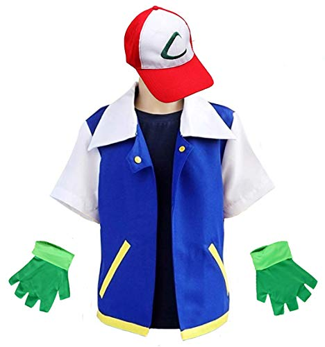 Animal Costume Hoodie Cosplay Jacket Gloves Hat Sets for Trainer