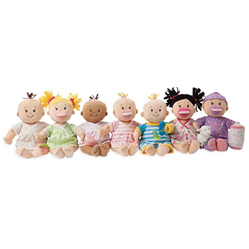 414ENW4hGsL - Manhattan Toy Baby Stella Blonde Soft First Baby Doll for Ages 1 Year and Up, 15""