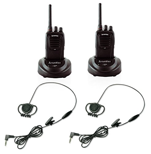Eartec Scrambler SC-1000 Two-way Wireless Communication System with Loop Earsets (2 Person) by Eartec